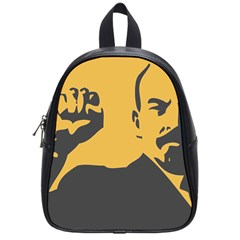 Power With Lenin School Bag (small) by youshidesign