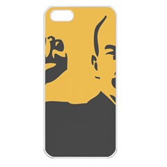 Power With Lenin Apple Iphone 5 Seamless Case (white) by youshidesign