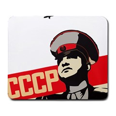 Soviet Red Army Large Mouse Pad (rectangle) by youshidesign