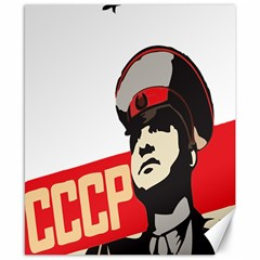Soviet Red Army Canvas 8  X 10  (unframed) by youshidesign