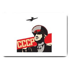 Soviet Red Army Large Door Mat by youshidesign