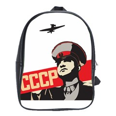 Soviet Red Army School Bag (Large) by youshidesign