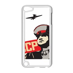 Soviet Red Army Apple Ipod Touch 5 Case (white) by youshidesign