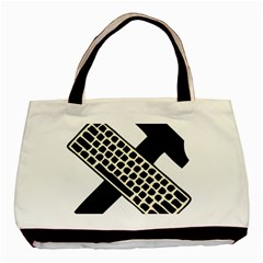 Hammer And Keyboard  Classic Tote Bag by youshidesign