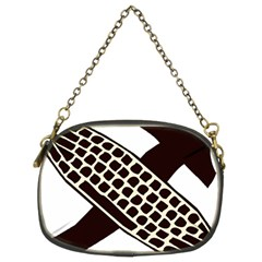 Hammer And Keyboard  Chain Purse (two Sided)  by youshidesign