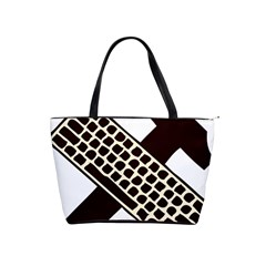 Hammer And Keyboard  Large Shoulder Bag by youshidesign