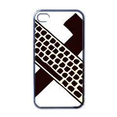 Hammer And Keyboard  Apple Iphone 4 Case (black) by youshidesign