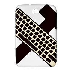 Hammer And Keyboard  Samsung Galaxy Note 8 0 N5100 Hardshell Case  by youshidesign
