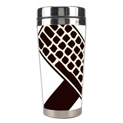 Hammer And Keyboard  Stainless Steel Travel Tumbler by youshidesign