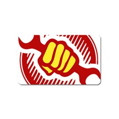 Power To The People Magnet (name Card) by youshidesign