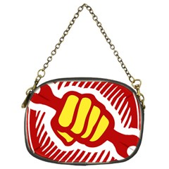 Power To The People Chain Purse (two Sided)  by youshidesign