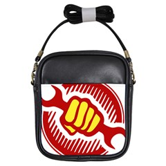 Power To The People Girl s Sling Bag by youshidesign