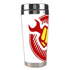 Power To The People Stainless Steel Travel Tumbler by youshidesign