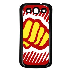 Power To The People Samsung Galaxy S3 Back Case (black) by youshidesign