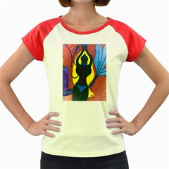 m Women s Cap Sleeve T-Shirt (Colored) by JacklyneMaeDesignsMarketingproducts