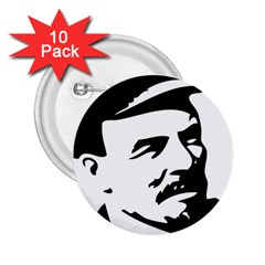 Lenin Portret 2 25  Button (10 Pack) by youshidesign