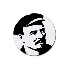Lenin Portret Drink Coaster (round) by youshidesign