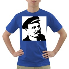 Lenin Portret Mens' T Shirt (colored) by youshidesign