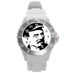 Lenin Portret Plastic Sport Watch (large) by youshidesign
