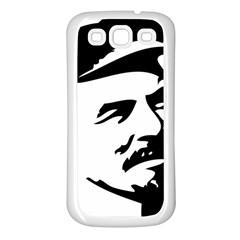 Lenin Portret Samsung Galaxy S3 Back Case (white) by youshidesign