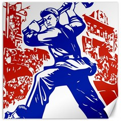 Communist Party Of China Canvas 16  X 16  (unframed) by youshidesign