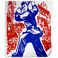 Communist Party Of China Canvas 20  X 24  (unframed) by youshidesign