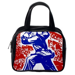 Communist Party Of China Classic Handbag (one Side) by youshidesign