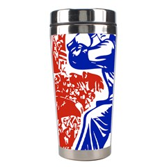 Communist Party Of China Stainless Steel Travel Tumbler by youshidesign