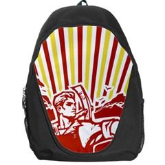 Octobe Revolution Backpack Bag by youshidesign
