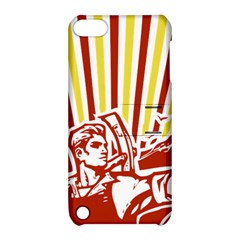 Octobe Revolution Apple Ipod Touch 5 Hardshell Case With Stand by youshidesign