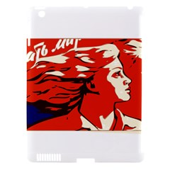 Communist Propaganda He And She  Apple Ipad 3/4 Hardshell Case (compatible With Smart Cover) by youshidesign