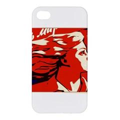 Communist Propaganda He And She  Apple Iphone 4/4s Premium Hardshell Case by youshidesign