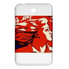 Communist Propaganda He And She  Samsung Galaxy Tab 3 (7 ) P3200 Hardshell Case  by youshidesign