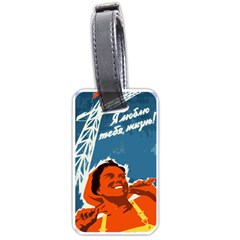 Building Together Luggage Tag (Two Sides) by youshidesign