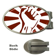 Fist Power Money Clip (oval) by youshidesign