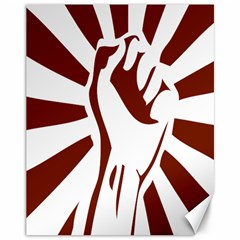Fist Power Canvas 11  X 14  (unframed) by youshidesign