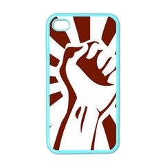 Fist Power Apple Iphone 4 Case (color) by youshidesign