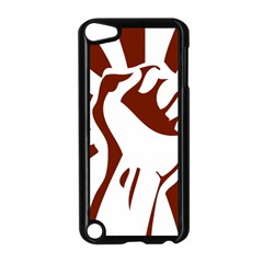 Fist Power Apple Ipod Touch 5 Case (black) by youshidesign