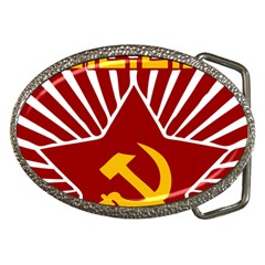Hammer And Sickle Cccp Belt Buckle