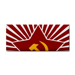 Hammer And Sickle Cccp Hand Towel