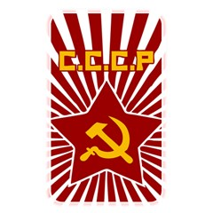 Hammer And Sickle Cccp Memory Card Reader (rectangular) by youshidesign
