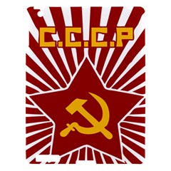 Hammer And Sickle Cccp Apple Ipad 3/4 Hardshell Case by youshidesign