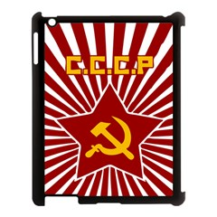 Hammer And Sickle Cccp Apple Ipad 3/4 Case (black) by youshidesign