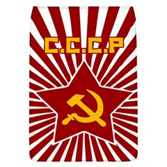hammer and sickle cccp Removable Flap Cover (Large)