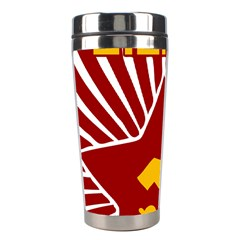 Hammer And Sickle Cccp Stainless Steel Travel Tumbler by youshidesign