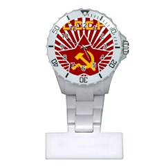 Hammer And Sickle Cccp Nurses Watch by youshidesign