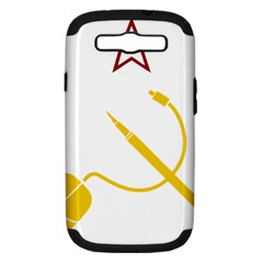 Cccp Mouse Pen Samsung Galaxy S Iii Hardshell Case (pc+silicone) by youshidesign