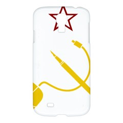 Cccp Mouse Pen Samsung Galaxy S4 I9500/i9505 Hardshell Case by youshidesign