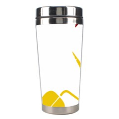 Cccp Mouse Pen Stainless Steel Travel Tumbler by youshidesign