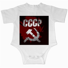 Cccp Soviet Union Flag Infant Creeper by youshidesign